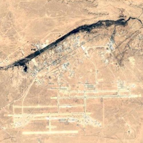 Al Asad Airbase (Google Maps)