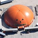 Giant pumpkin (Google Maps)