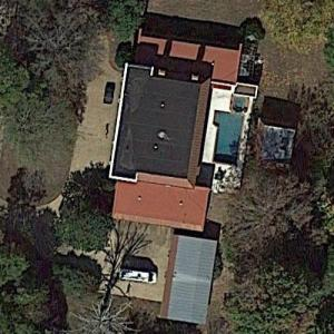 Billy Ray & Miley Cyrus' House (Google Maps)