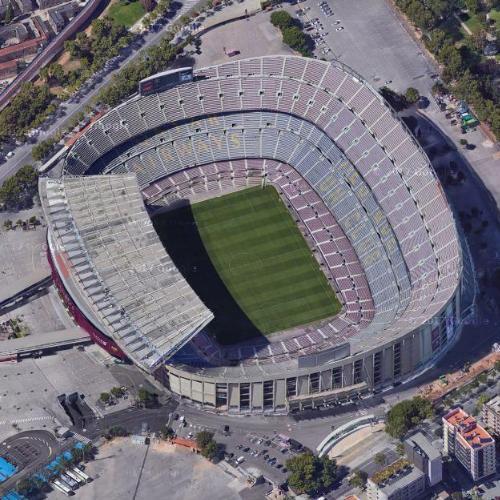 Camp Nou In Barcelona Spain Google Maps