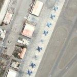 Old Military Planes (Google Maps)