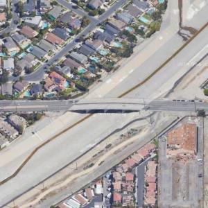 Los Angeles Storm Drains (Google Maps)