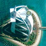 Burj Al Arab Hotel (Google Maps)