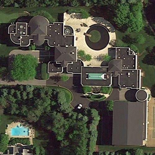 Michael Jordan S House In Highland Park Il Google Maps