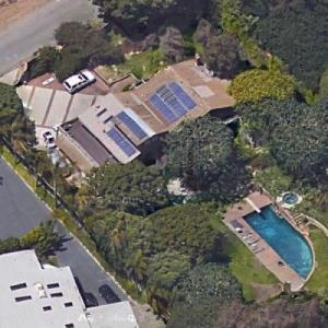 Anthony Kiedis' House (Google Maps)