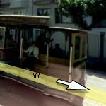 Cable Car in California Street (StreetView)