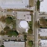 Nuclear reactor in downtown Atlanta (Google Maps)