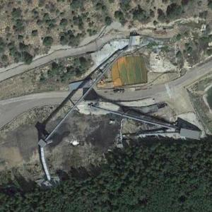 2007-08-06 - Utah Mine Collapse Site (Google Maps)
