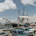 'Star of India' - the world's oldest active ship (StreetView)