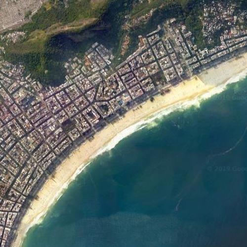 Copacabana Beach (Google Maps)