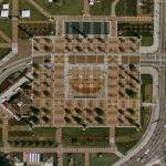 Centennial Olympic Park and fountains (Google Maps)