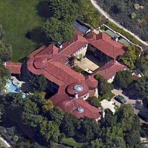 Arnold Schwarzenegger's House (Google Maps)