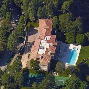 Magic Johnson's House (Google Maps)