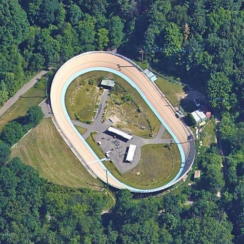 Velodrome at Bloomer Park (Google Maps)
