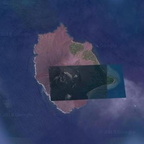 Child of Krakatoa (Google Maps)