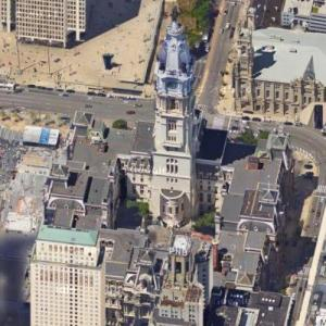 Philadelphia City Hall (Google Maps)