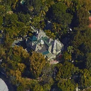 Johnny Depp's House (Google Maps)