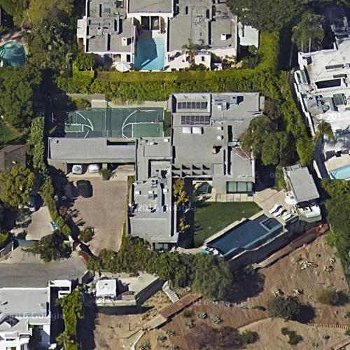 L A Houses: Leonardo DiCaprio's House In Los Angeles, CA (Google Maps