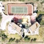 Futuristic/modern house in the Malibu hills (Google Maps)