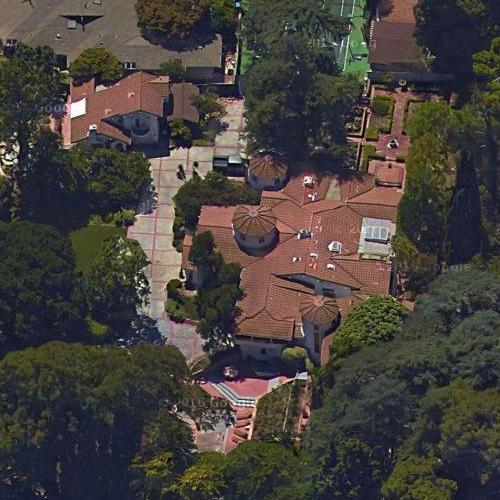Alex Trebek's House (Google Maps)