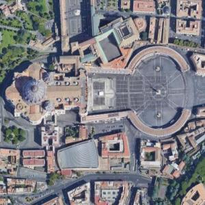 Città del Vaticano - Vatican City (Google Maps)