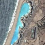 World's Largest Swimming Pool (Google Maps)
