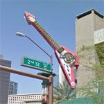 Guitar @ the Hard Rock Cafe Phoenix (StreetView)