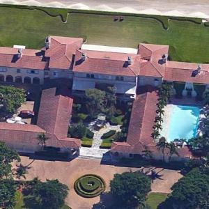 Franklin L. Haney's house (previously Veronica Hearst's estate) (Google Maps)