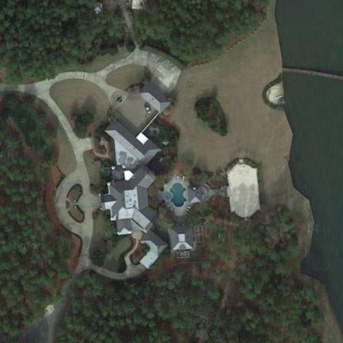 Brett Favre's House (Google Maps)
