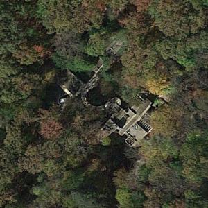 Frank Lloyd Wright's Fallingwater (Google Maps)