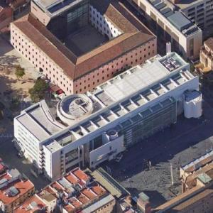 'Barcelona Museum of Contemporary Art' by Richard Meier (Google Maps)