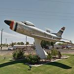 North American F-86D Sabre (StreetView)
