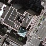 Leonard Blavatnik's $150 million triplex apartment (Google Maps)