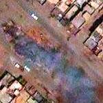 Smoke in Baghdad (Google Maps)