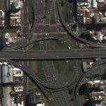9 de Julio & AU1 (Google Maps)