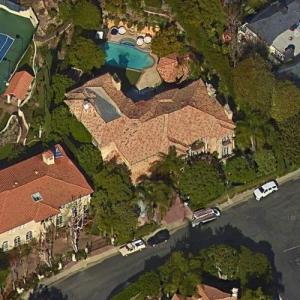 Charlie Sheen's House (Google Maps)
