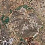 Lawn Hill crater (Google Maps)