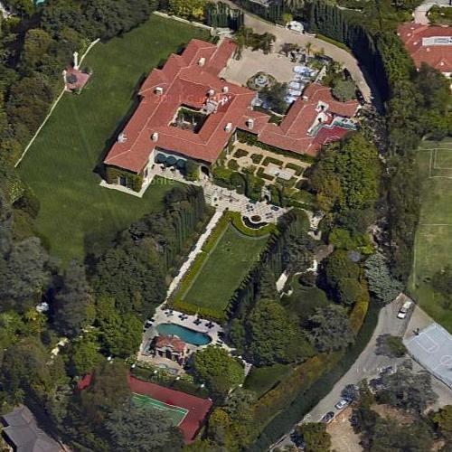 harold lloyds house former in beverly hills ca