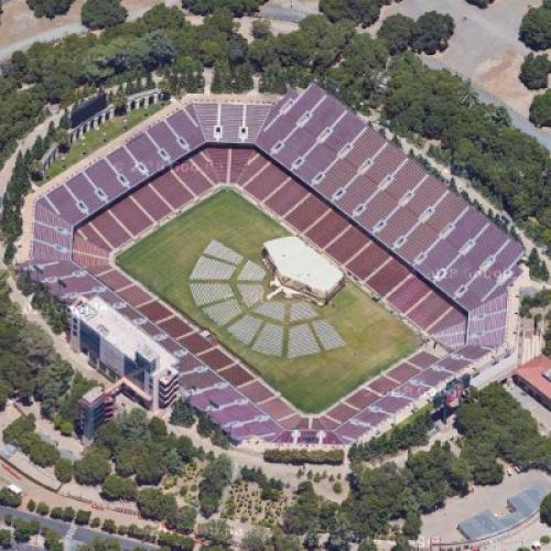 Stanford Stadium (Google Maps)