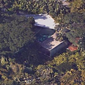 'Sheats-Goldstein House' by John Lautner (Google Maps)