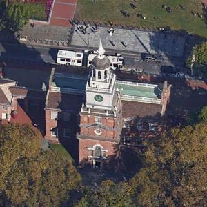 Independence Hall (Google Maps)