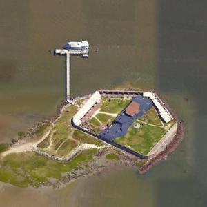 Fort Sumter (Google Maps)