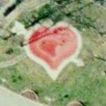 Heart shaped pool (Google Maps)
