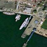 USS Potomac (Google Maps)