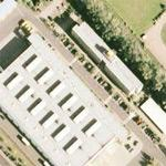 Deutsche Post Logo-Cube at Letter Sorting Centre Oldenburg (Google Maps)