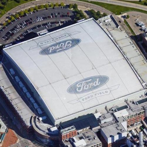 Ford Field (Google Maps)