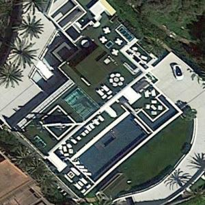 Bruce Makowsky's house (formerly Michael Strahan's house) (Google Maps)