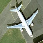 Airbus A319 (Volkswagen Air Service) (Google Maps)