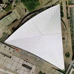 Center of New Industries and Technologies (CNIT), La Défense (Google Maps)
