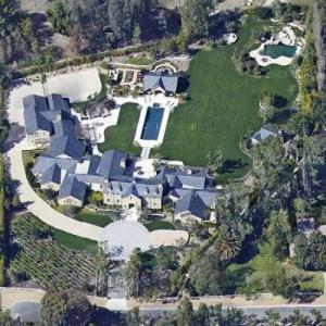 Kim Kardashian Amp Kanye West S House In Hidden Hills Ca